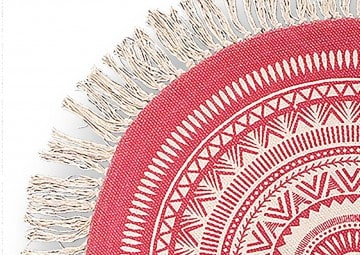 Dywan wewnętrzny Maya 130cm red