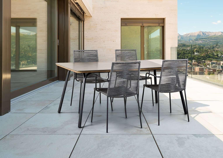 Zestaw ogrodowy stół i krzesła SIMI