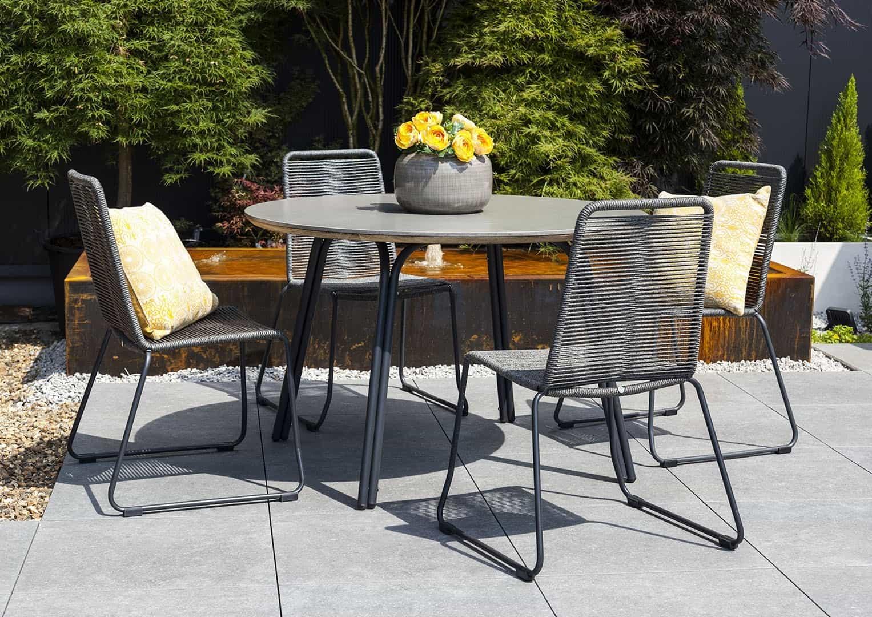 minimalistyczne meble ogrodowe SIMI