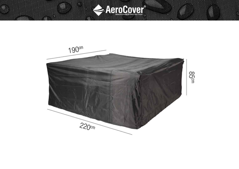 Pokrowiec prostokątny na meble ogrodowe 220x190x85