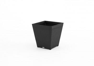 Donica ogrodowa SCALEO 40 cm Modern czarny OUTLET