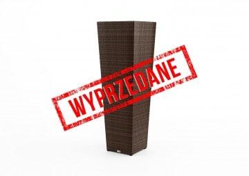 Donica ogrodowa SCALEO Modern brąz 120cm OUTLET