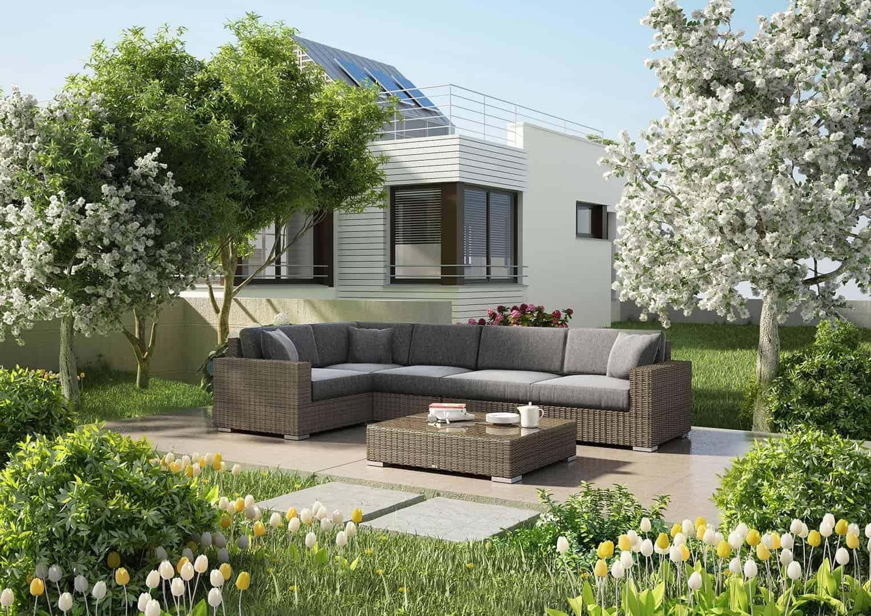 sofa ogrodowa MILANO