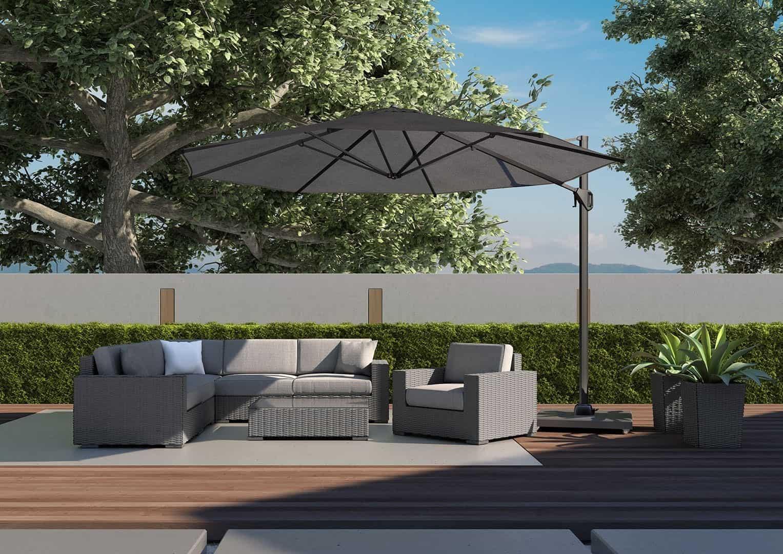 Podpowiadamy, jak wybrać meble na duży taras: meble ogrodowe MILANO II