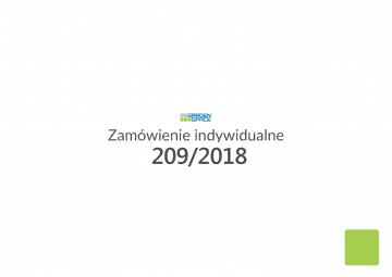 Zamówienie 209/2018