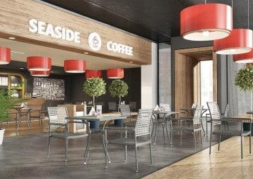 nowoczesne meble: Meble balkonowe AVEIRO Modern szary 1