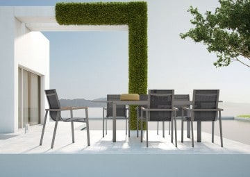 Stół ogrodowy TOLEDO Stone&Wood