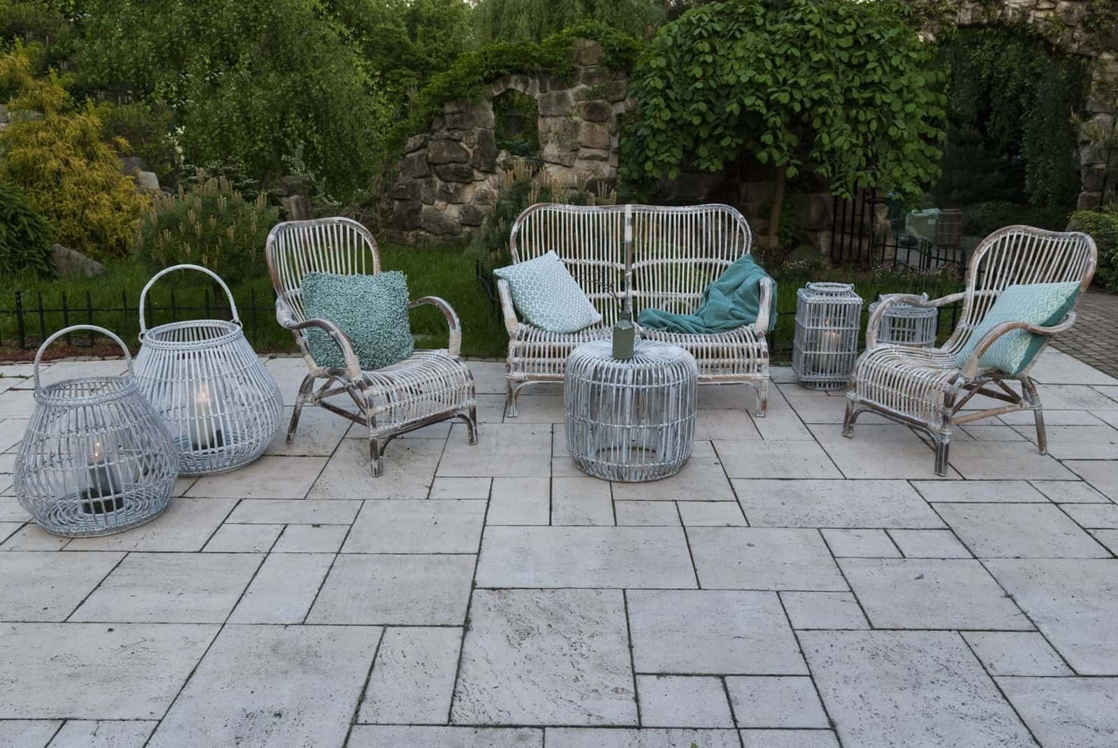 meble rattanowe na balkon cannes sklep internetowy garden space. Black Bedroom Furniture Sets. Home Design Ideas