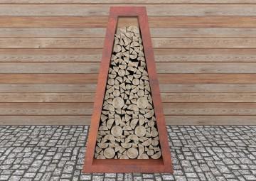 Paleniska ogrodowe: Pojemnik na drewno Wood Storage II