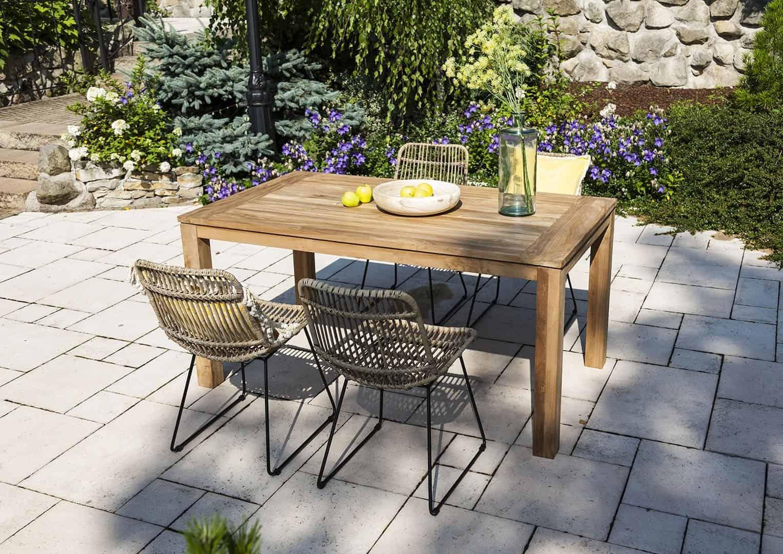 Zestaw mebli ogrodowych NIMES 160x90