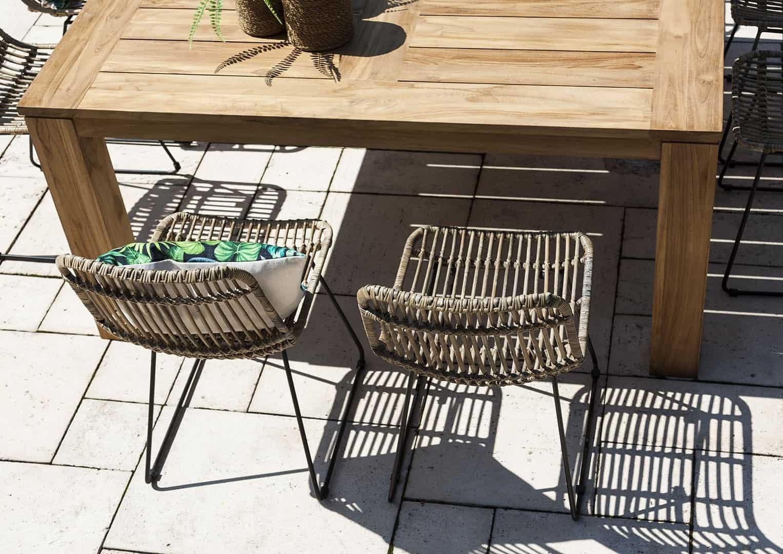 Zestaw mebli ogrodowych NIMES 160x160