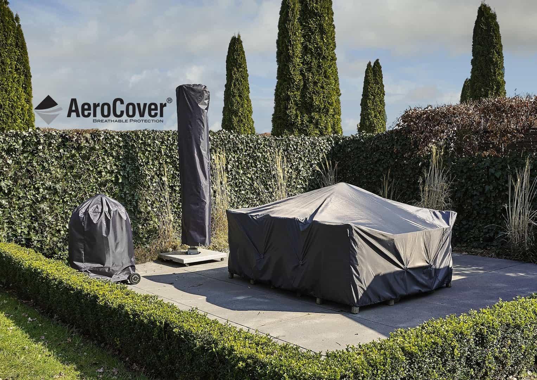 """Pokrowiec ogrodowy w kształcie """"L"""" PRAWY 270x210x85x65-90"""