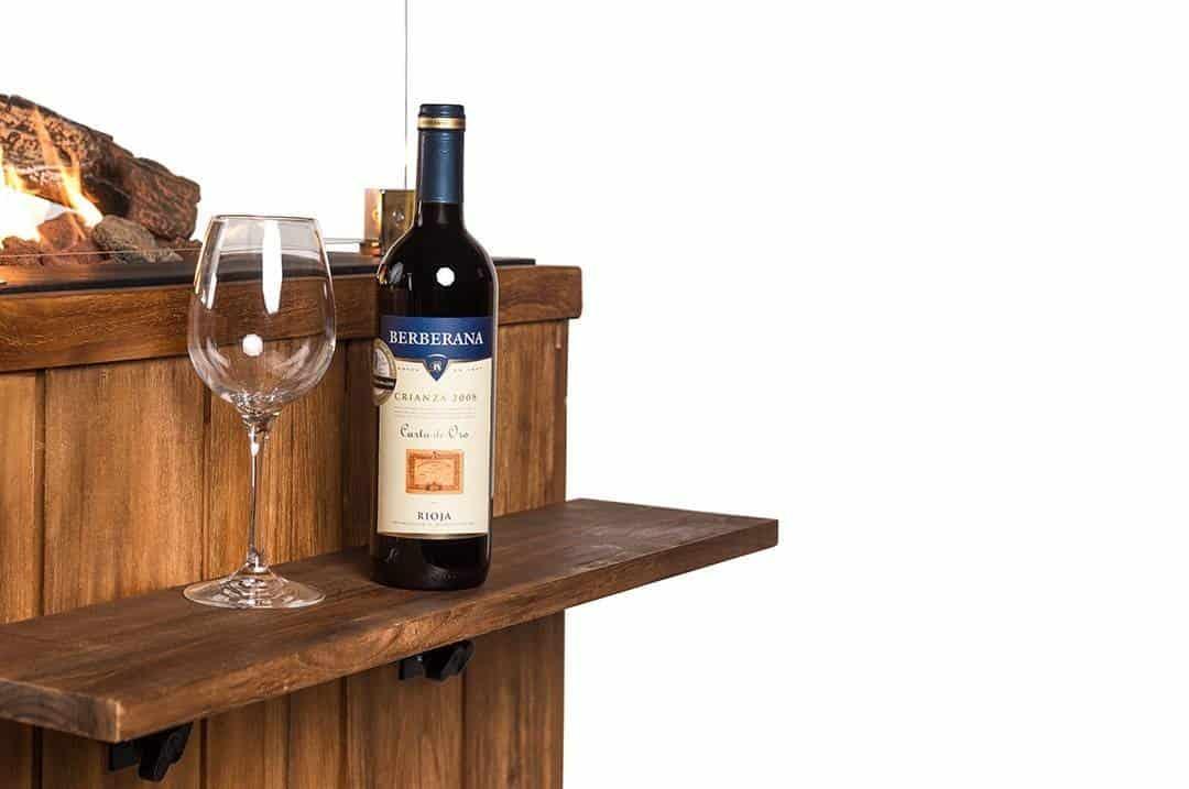 Zestaw 2 półek bocznych dla paleniska Lounge&Dining