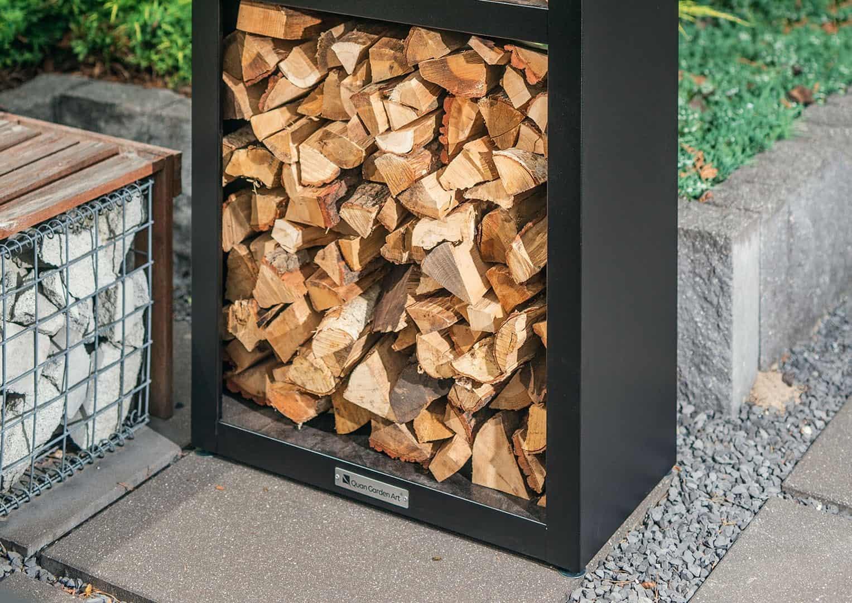 Pojemnik na drewno Basic Wood Storage
