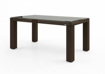 Stół ogrodowy RAPALLO 160cm Royal brąz
