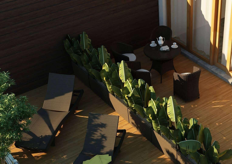 Stół ogrodowy FILIP II Royal brąz