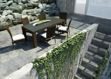 Krzesło ogrodowe STRATO Royal brąz