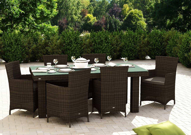 Fotel ogrodowy AMANDA Royal brąz