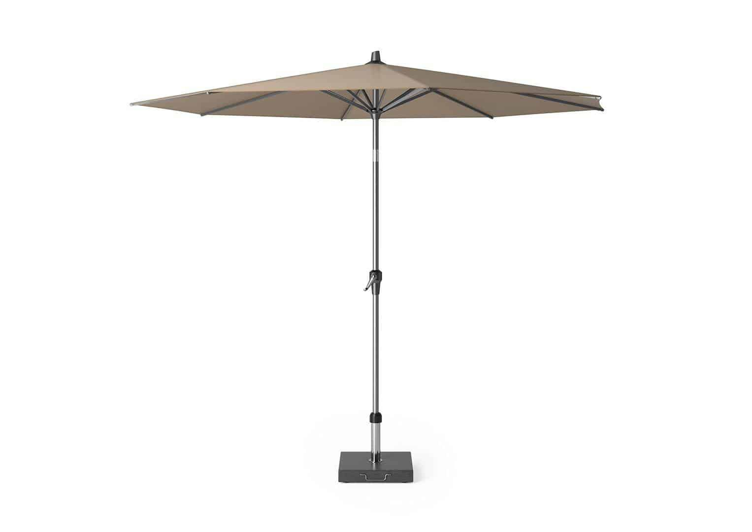 Parasol ogrodowy Riva Ø 3m Taupe OUTLET
