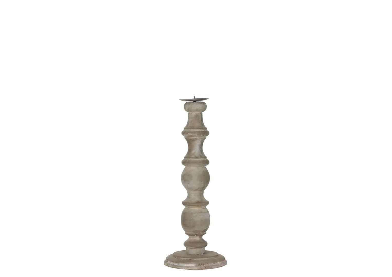 Świecznik biały 38cm