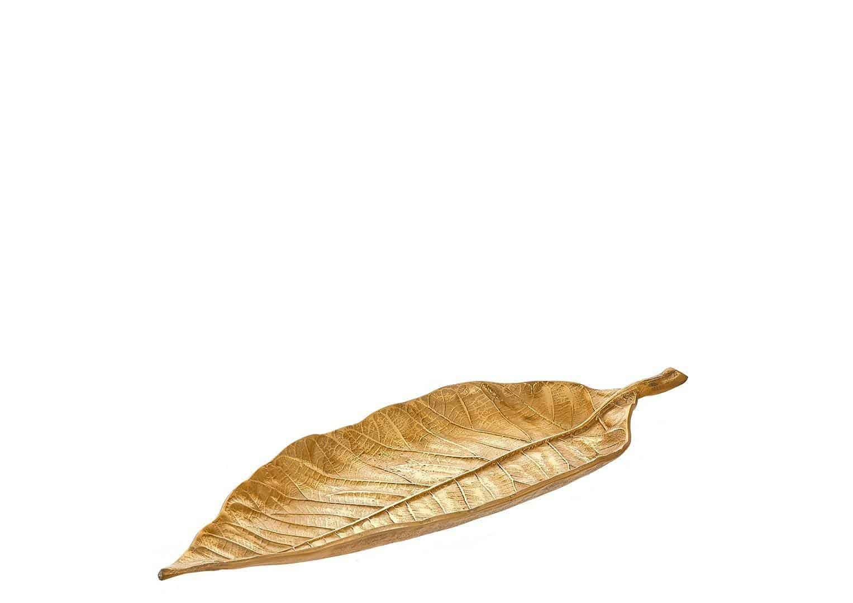 Patera złoty liść 50cm