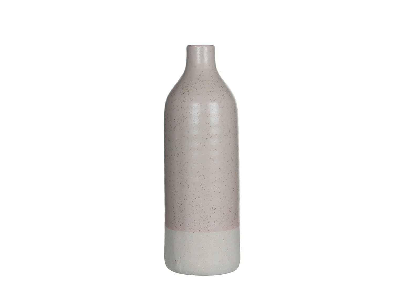 Butelka jasnoróżowa Saul 40cm
