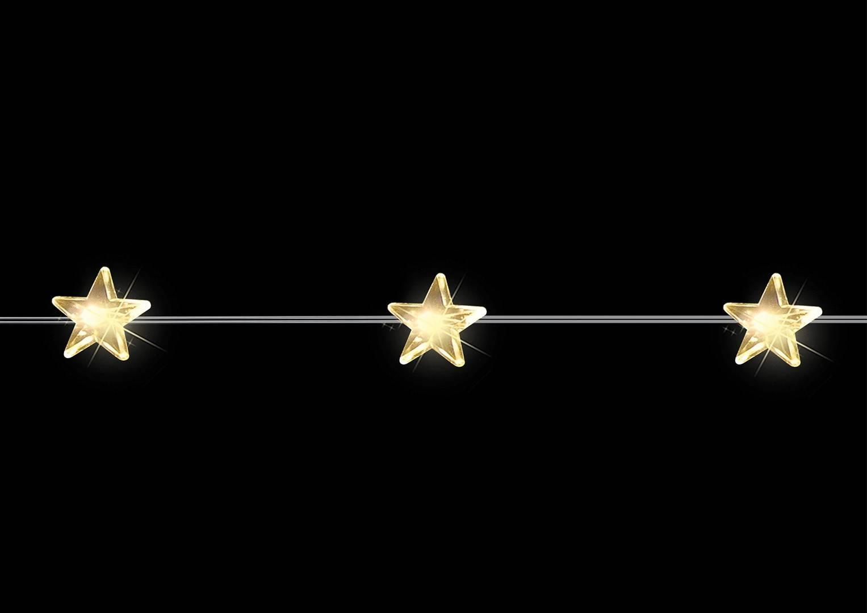 Wisząca gałąź 20 LED gwiazdy
