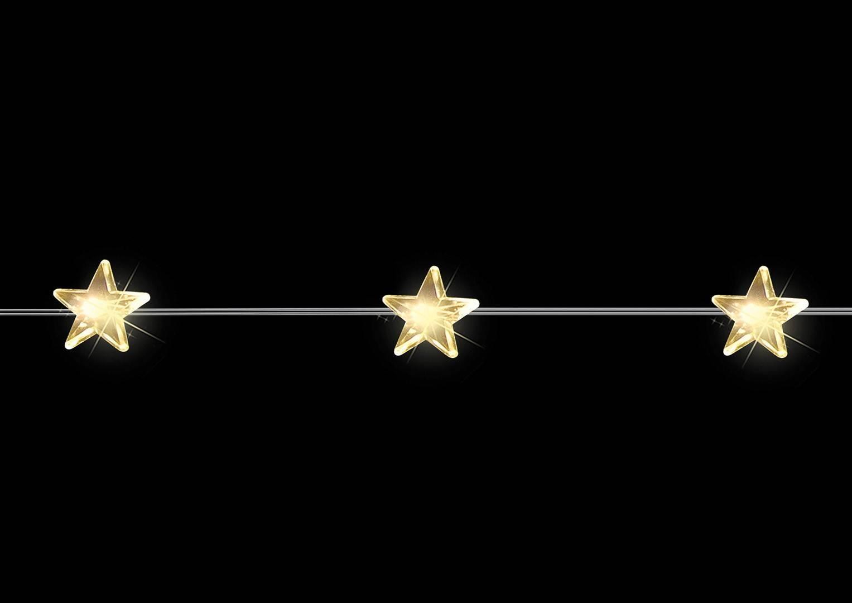 Wisząca gałąź 30 LED gwiazdy