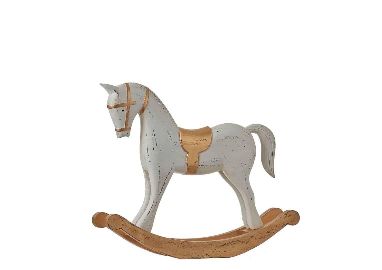 Figurka konia na biegunach 40 cm