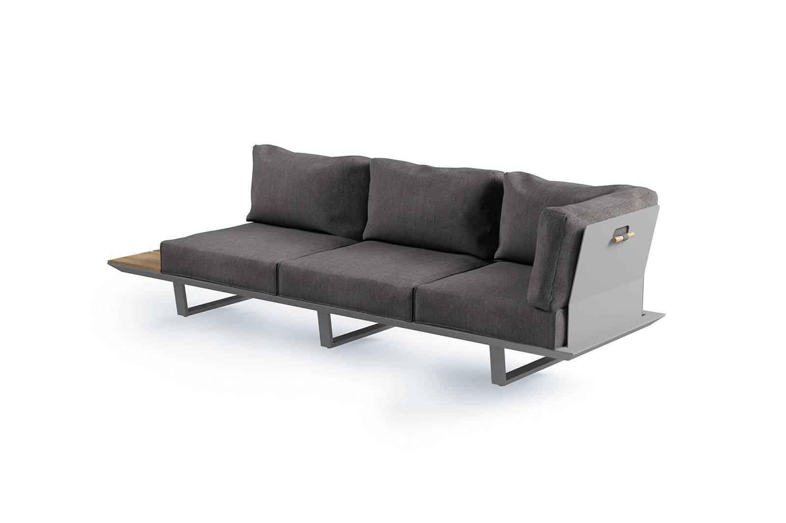 Meble ogrodowe CORIA II grey