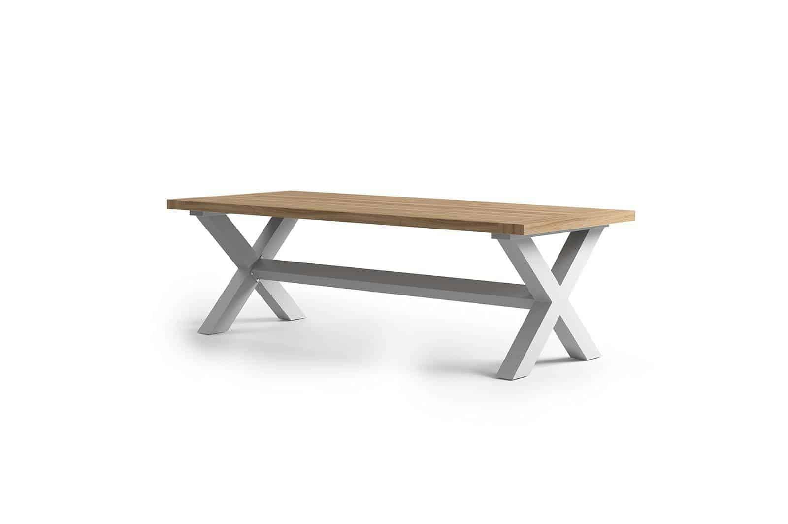 Stół ogrodowy BILBAO jasnoszary