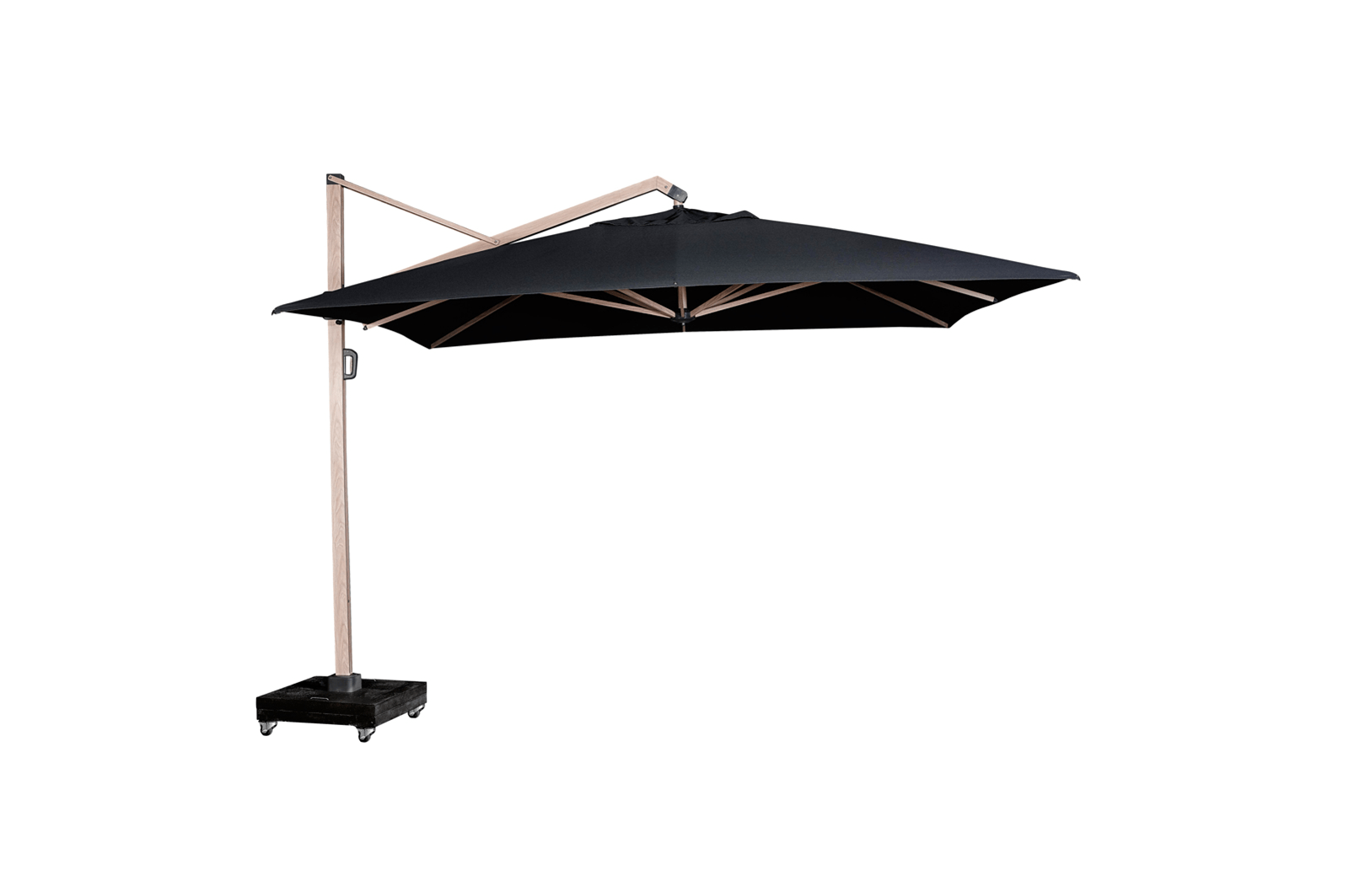 Duży parasol ogrodowy prostokątny Icon 4m x 3m