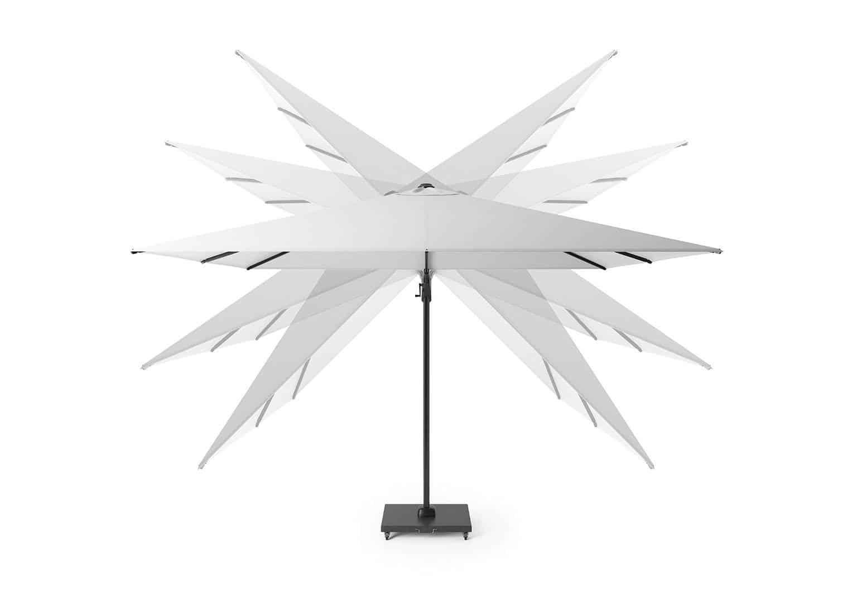 Parasol ogrodowy Challenger T² Premium 3m x 3m Oak