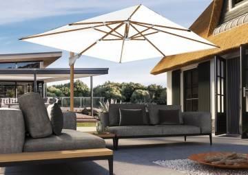 SALE up to -50% OFF: Parasol ogrodowy Challenger T² 3m x 3m Oak