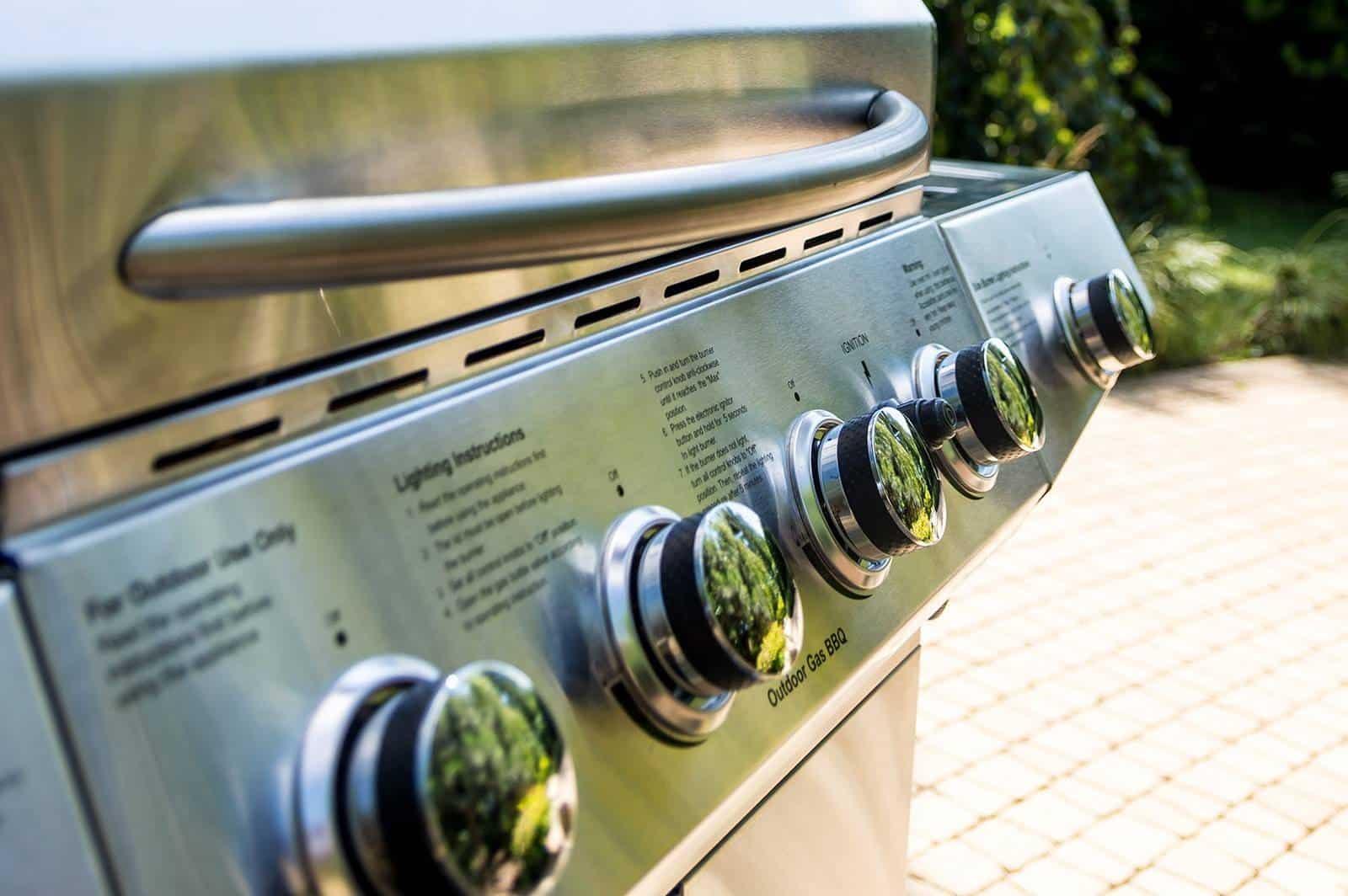 Grill ogrodowy gazowy CARINI 6-palnikowy