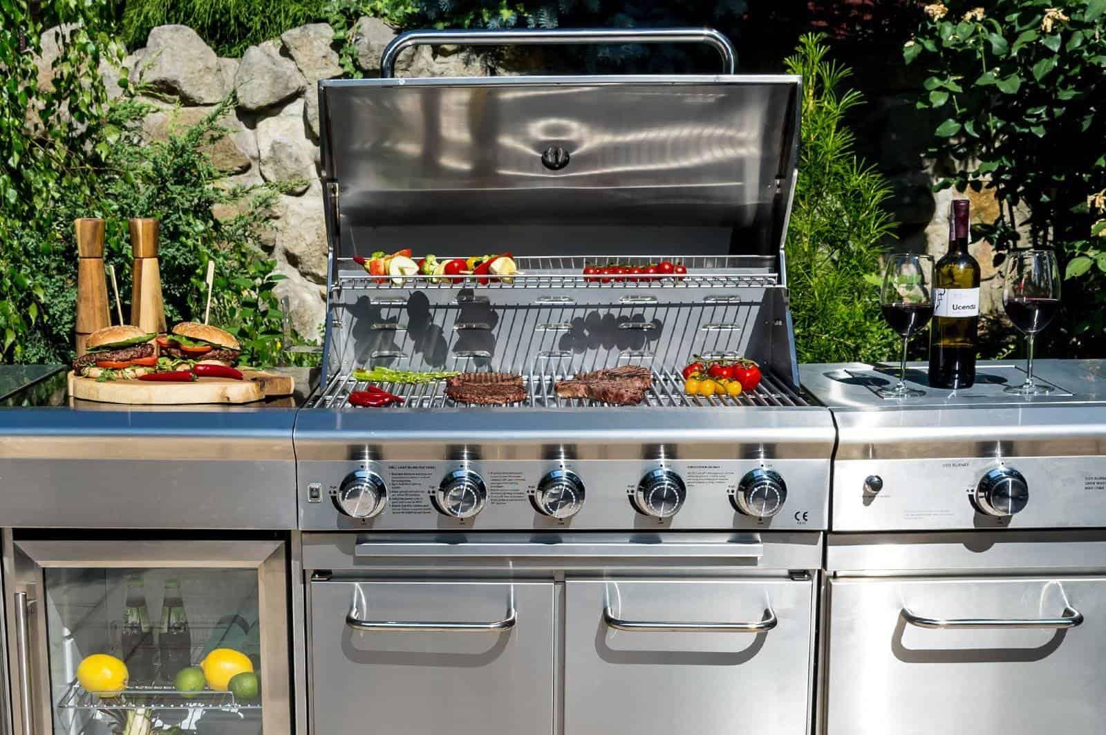 gazowa kuchnia ogrodowa SICILIA