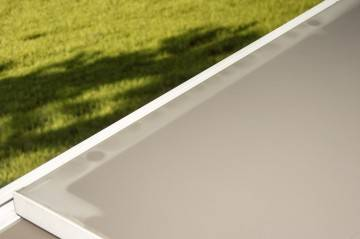 Zestaw ogrodowy stół TOLEDO + ALICANTE light grey 53
