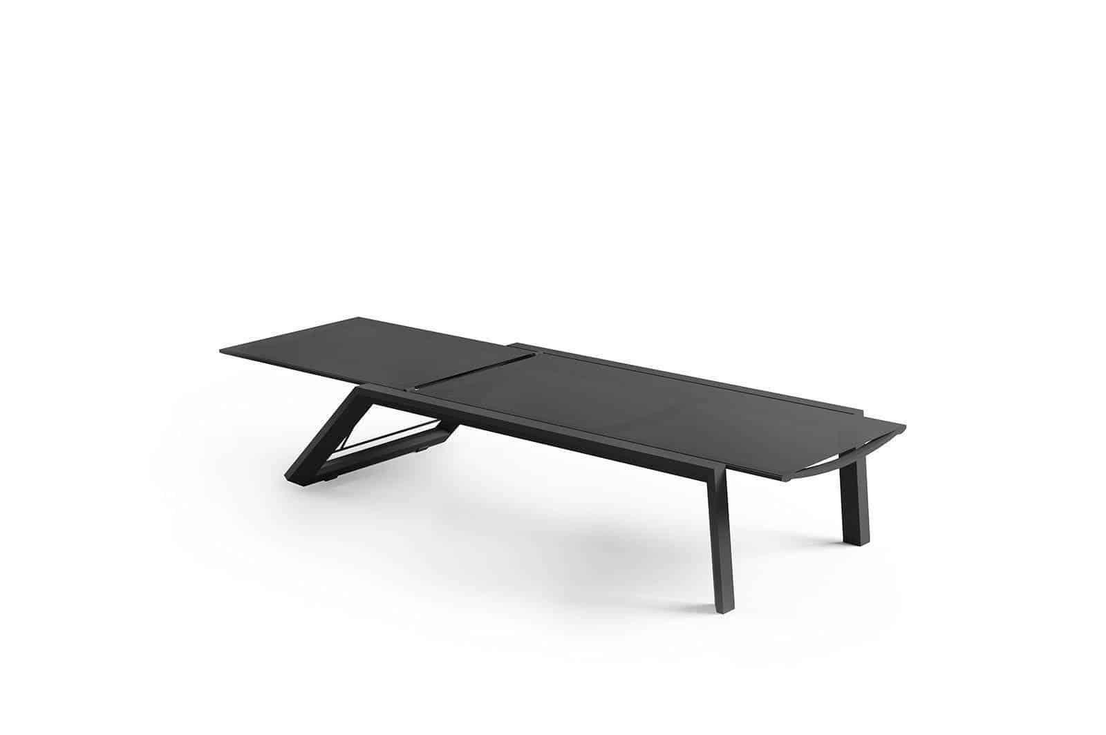 Leżak MURCIA ze stolikiem GRENADA antracite