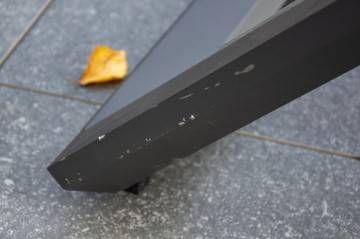 Leżak MURCIA ze stolikiem GRENADA teak antracite