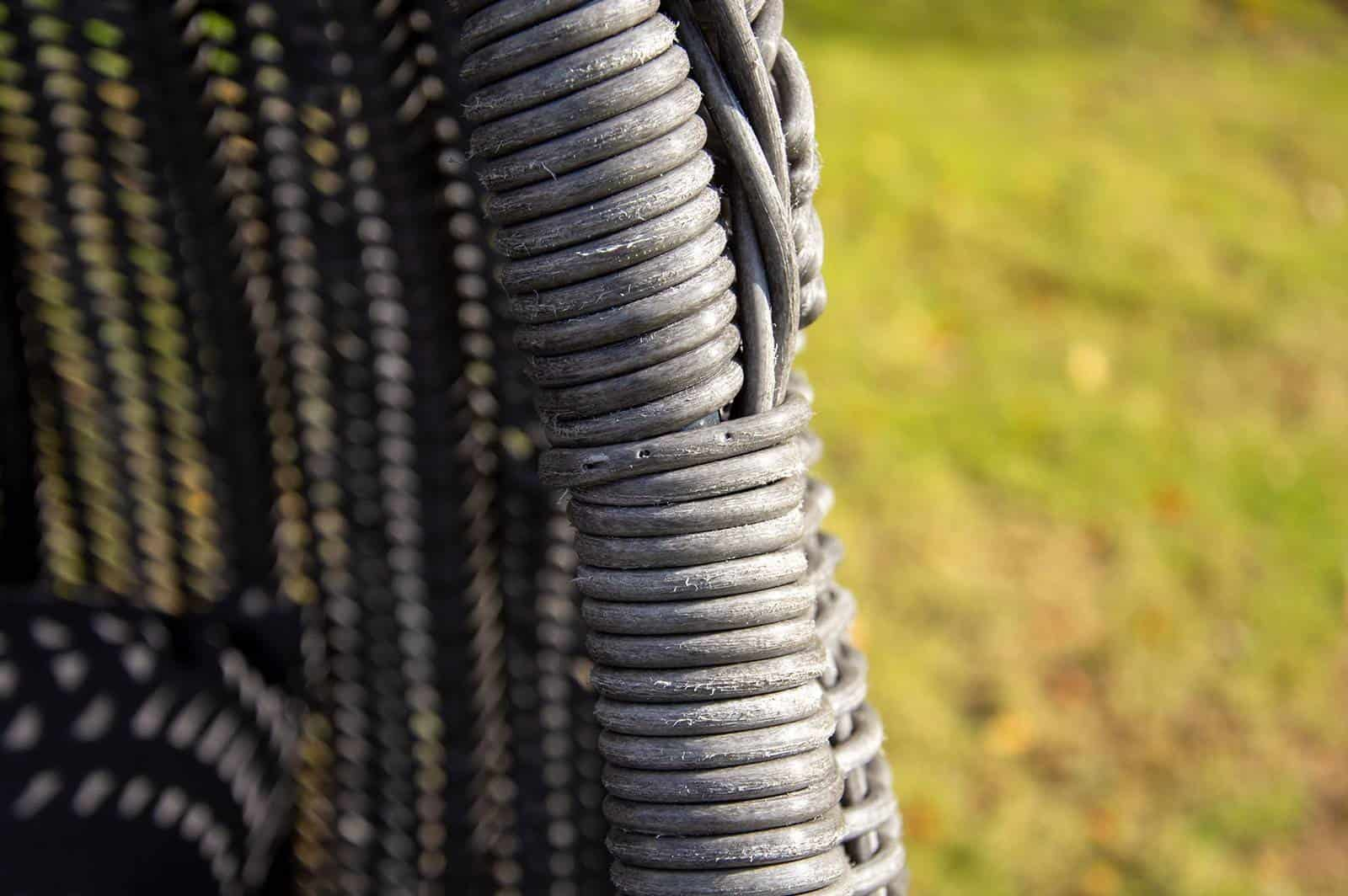 Huśtawka ogrodowa KOKON royal grey