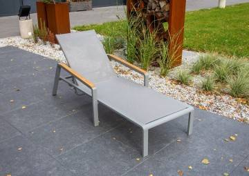 Leżak CORDOBA grey teak