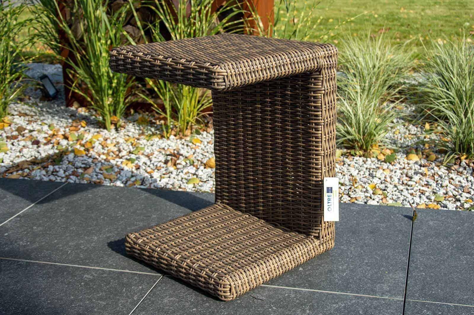 Stolik ROMEO do leżaka ogrodowego royal sand 105