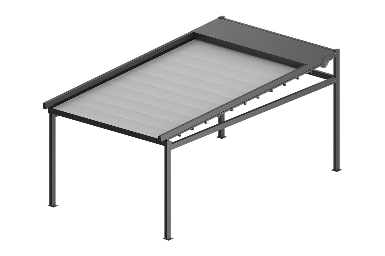 Zadaszenie tarasowe SOLID 3,5x3m