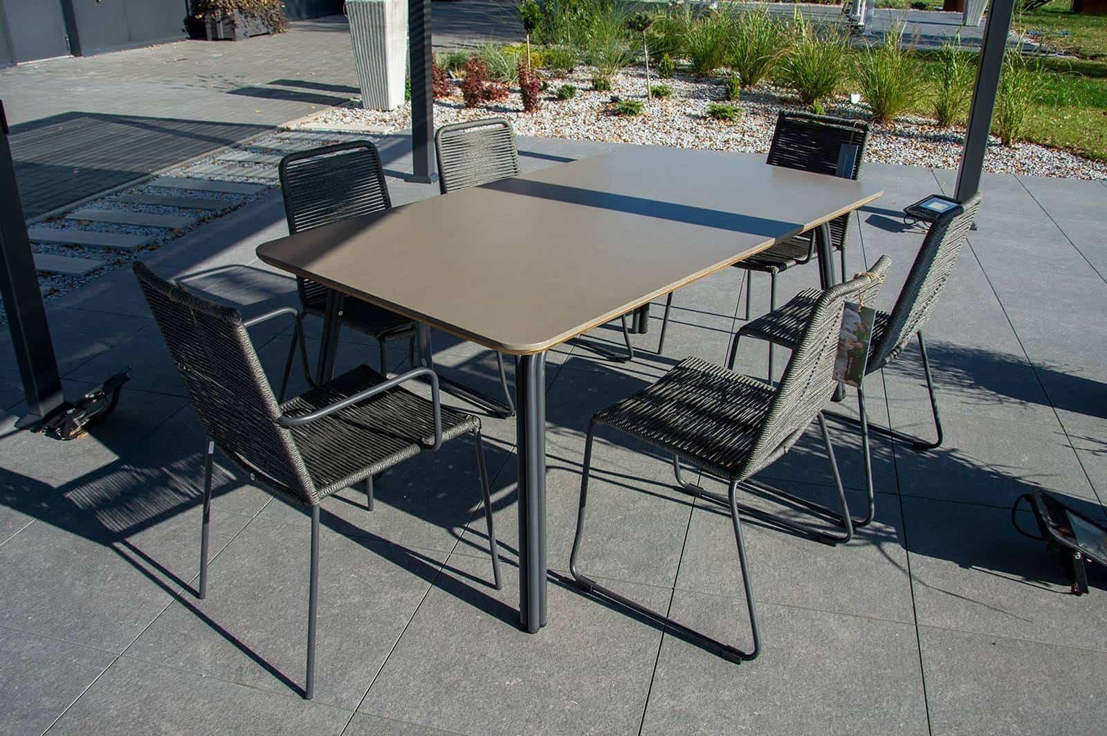 Zestaw ogrodowy SIMI z krzesłami KEA / ELOS