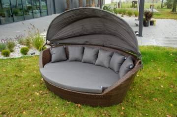 Sofa ogrodowa PORTOFINO modern brown