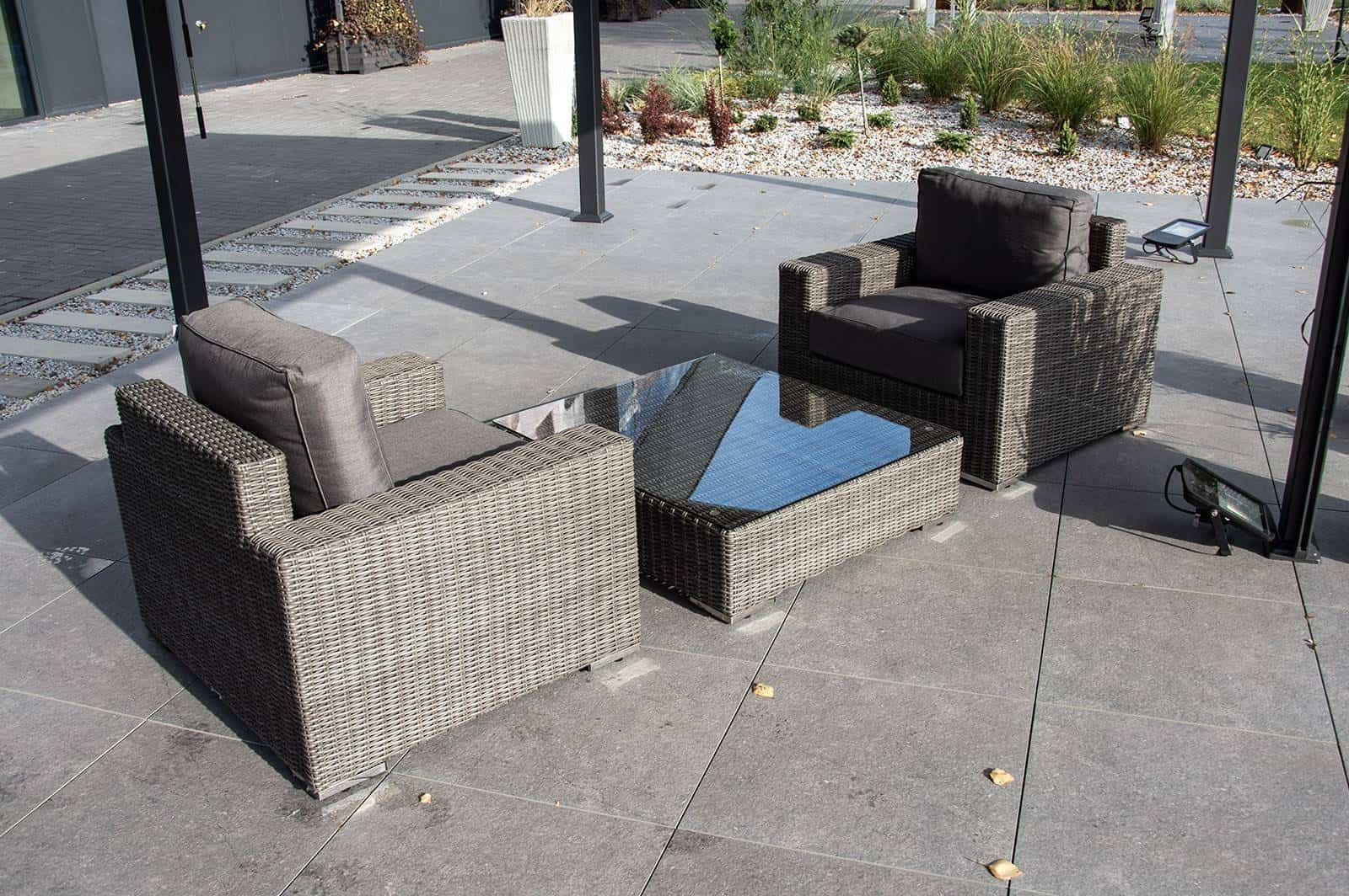 Zestaw mebli ogrodowych MILANO royal grey 158