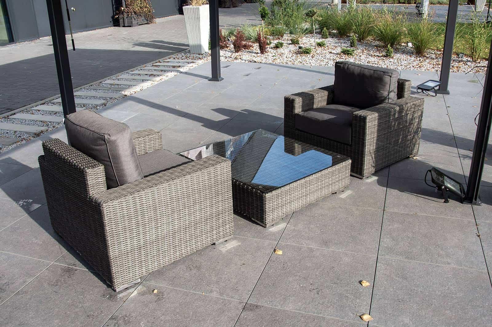 Zestaw mebli ogrodowych MILANO royal grey 160