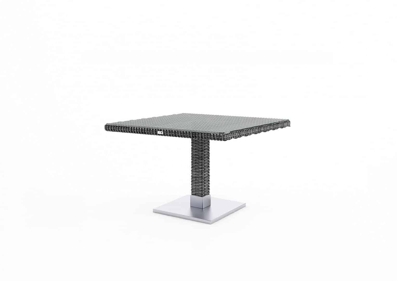 Zestaw MILANO royal grey ze stolikiem QUADRO 200