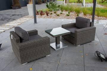 Zestaw ogrodowy MILANO 208 royal grey