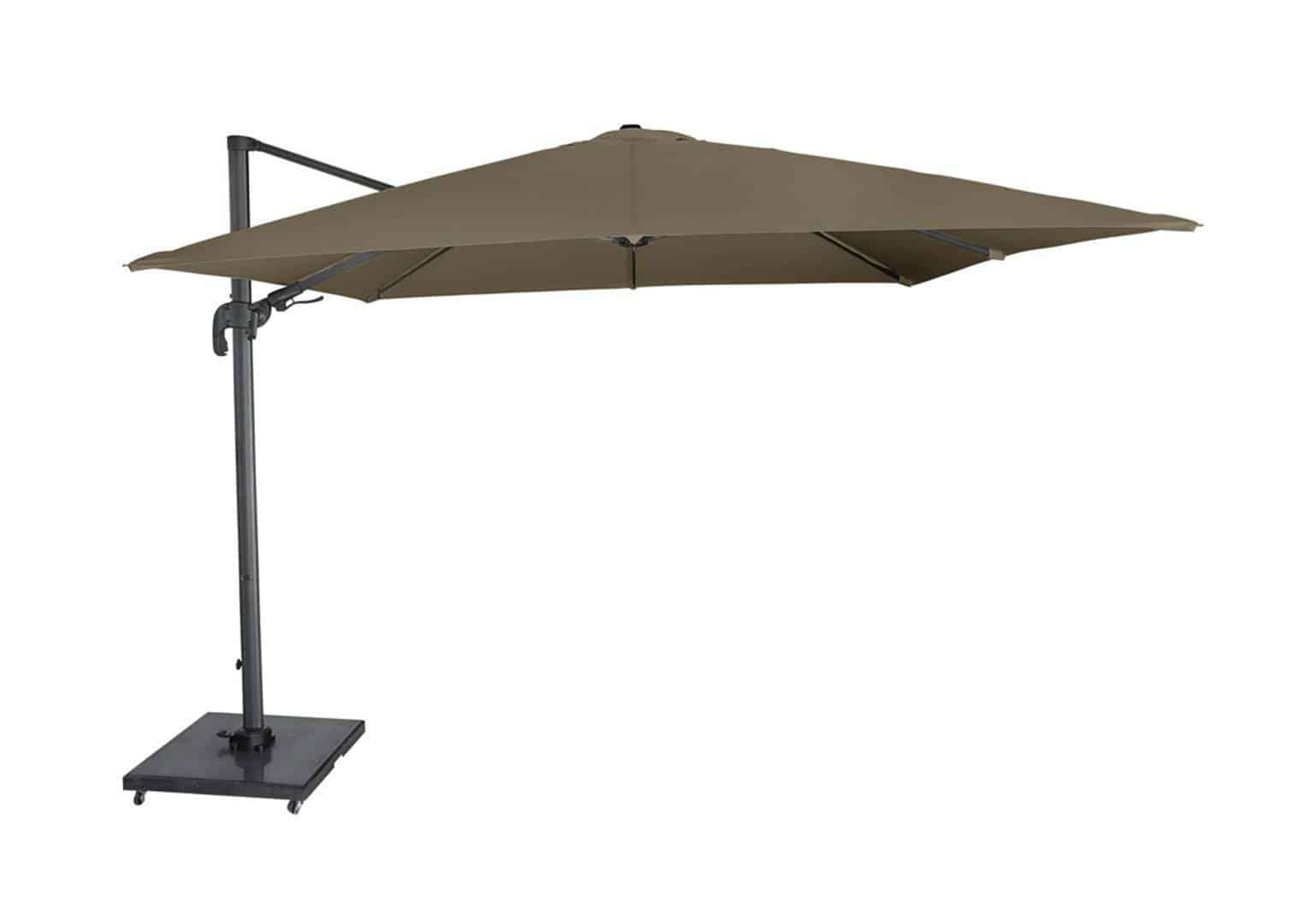 Parasol ogrodowy FALCON T2 2,7 m x 2,7 m taupe 313